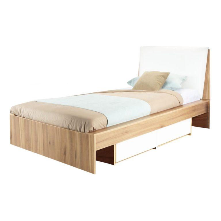تخت یک نفره دو کشو آلفان-1