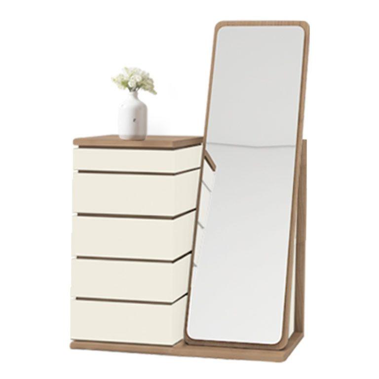 میز آرایش آینه ملامینه کارما